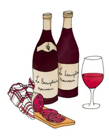 Soirée Beaujolais le 18 novembre 2021